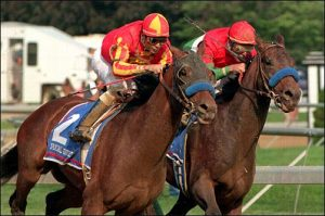 Real Quiet and Victory Gallop in 1998 Kentucky Derby